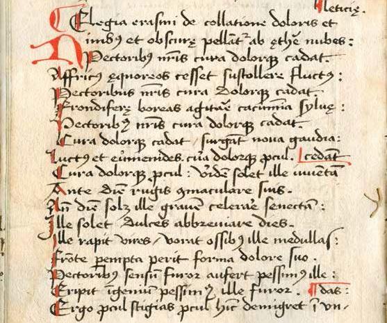 Goudse Gedichten Van Erasmus Drukkerswerkplaats Gouda